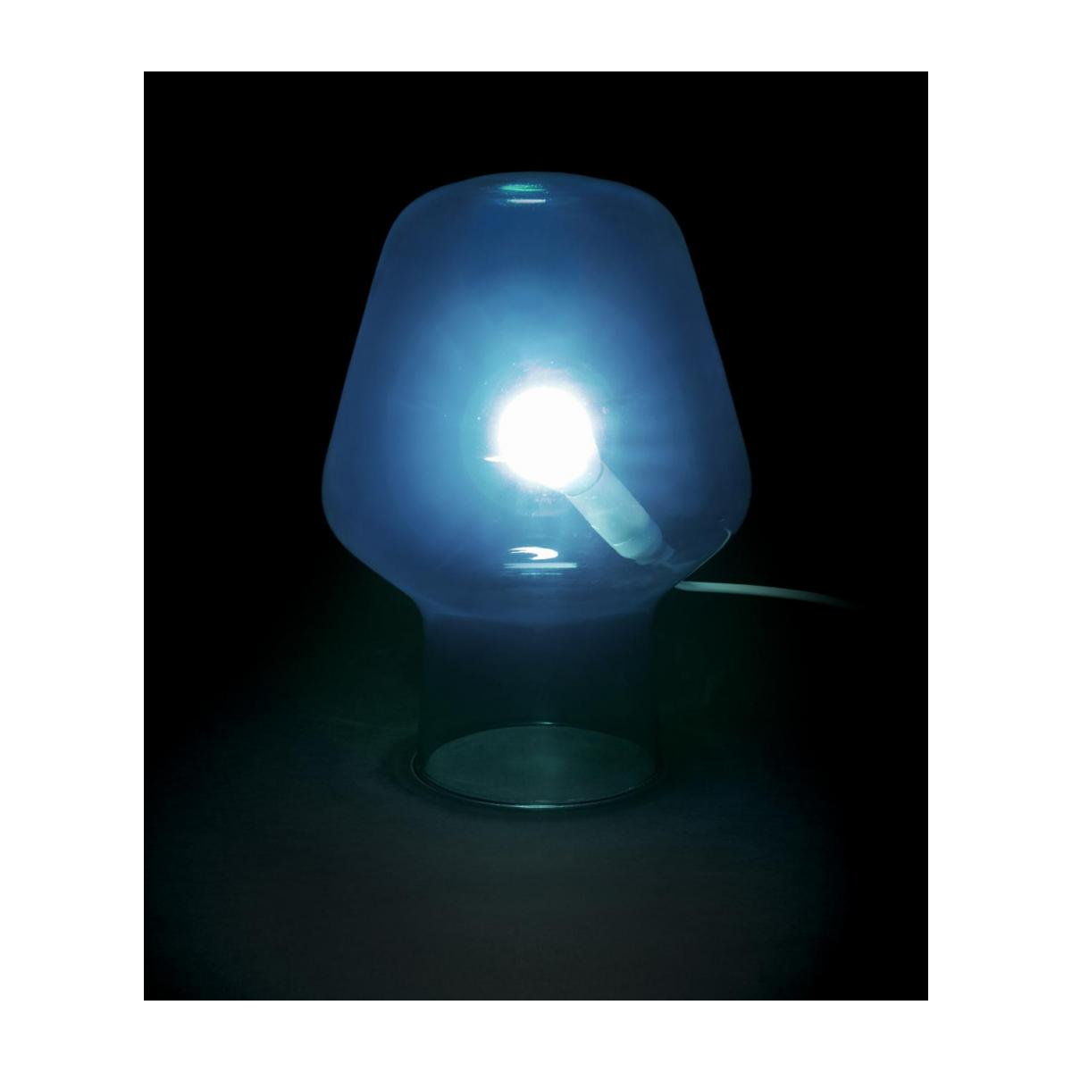 Large blue table lamp n°2