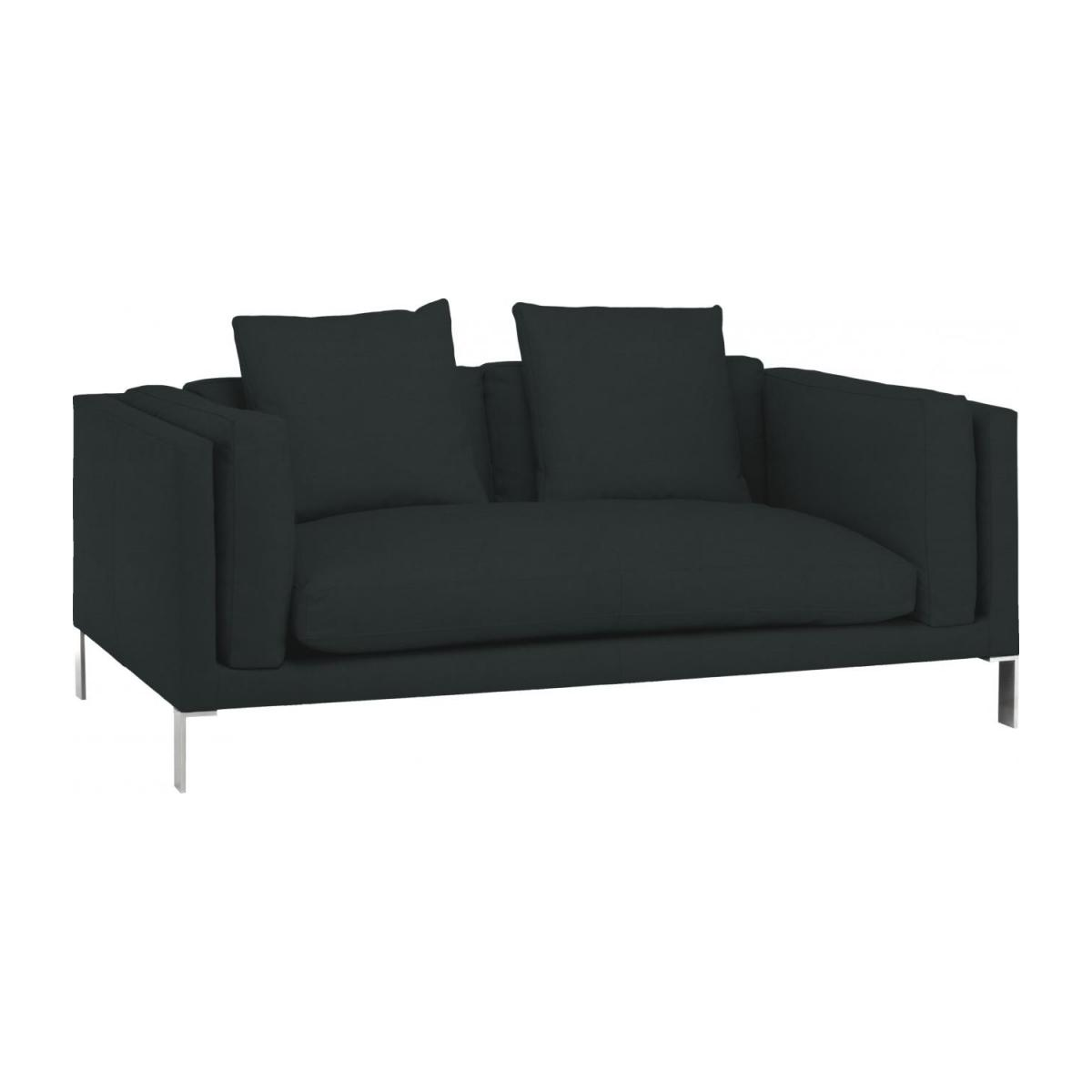 Leather 2 seater sofa n°1
