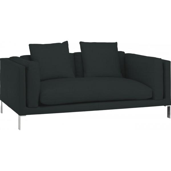 newman canap 2 places en cuir par habitat chez habitat fr. Black Bedroom Furniture Sets. Home Design Ideas