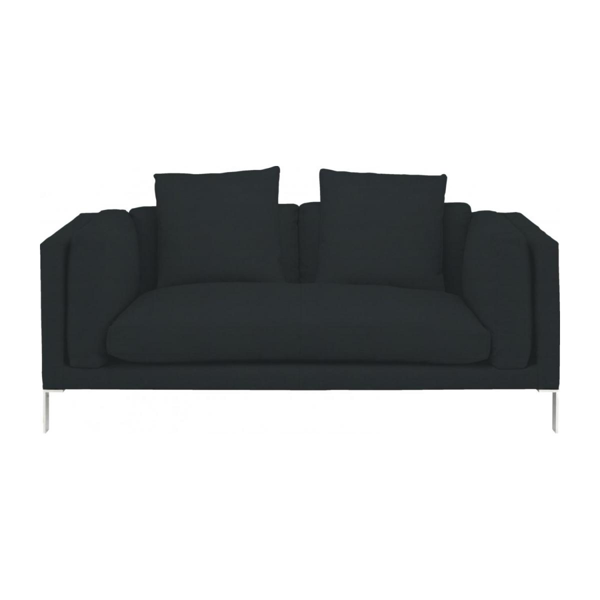 Leather 2 seater sofa n°3