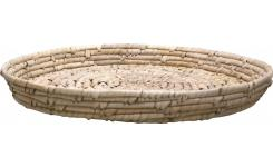 Tray made of seagrass and date palm