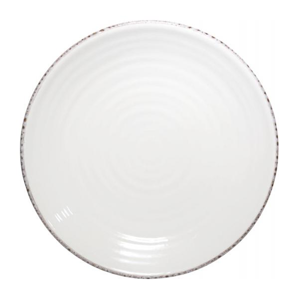 viva assiette plate 27cm en fa ence cr me habitat. Black Bedroom Furniture Sets. Home Design Ideas