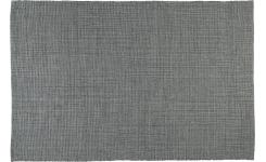 Flat hand-tufted cotton rug 120 x 180