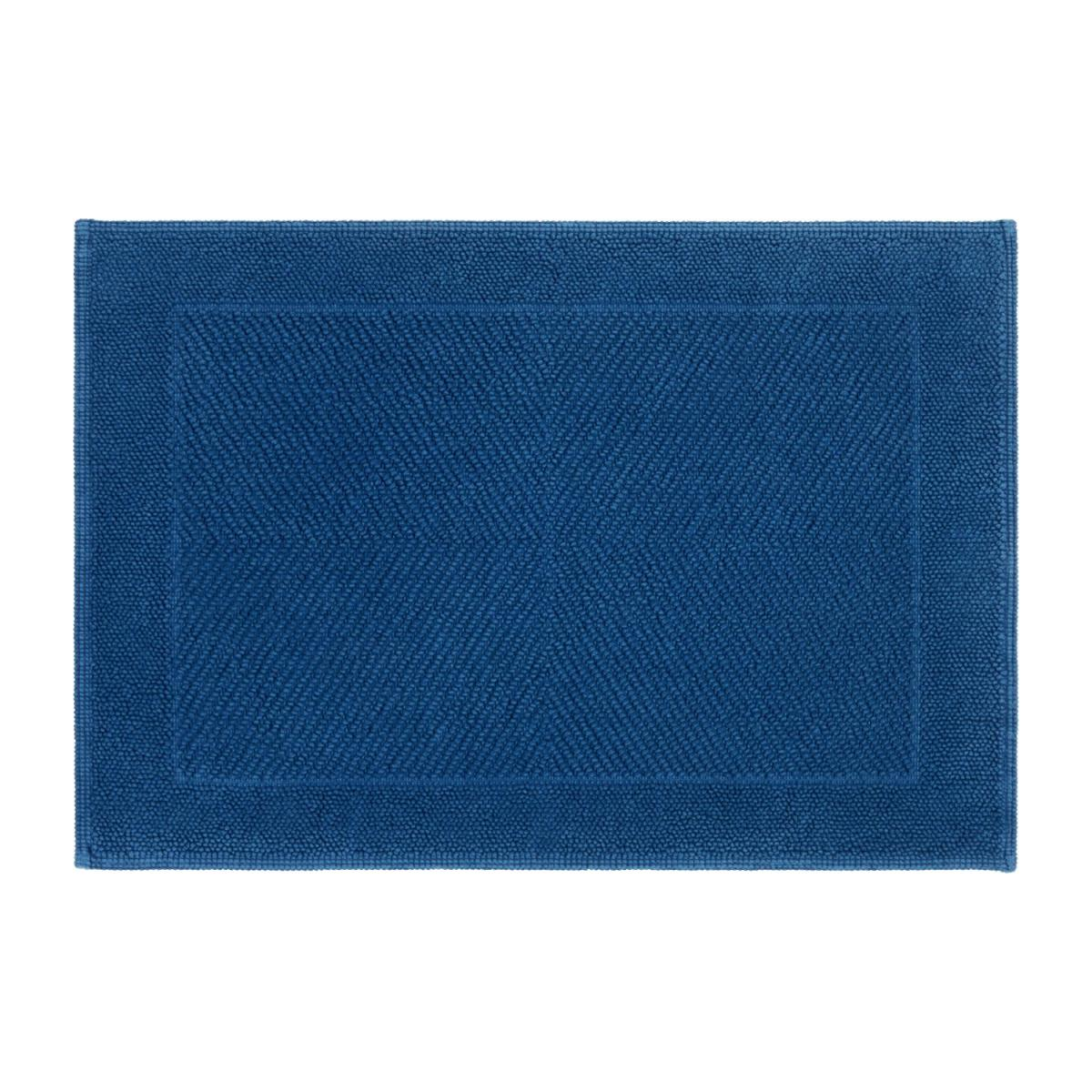 Blue bath mat n°1