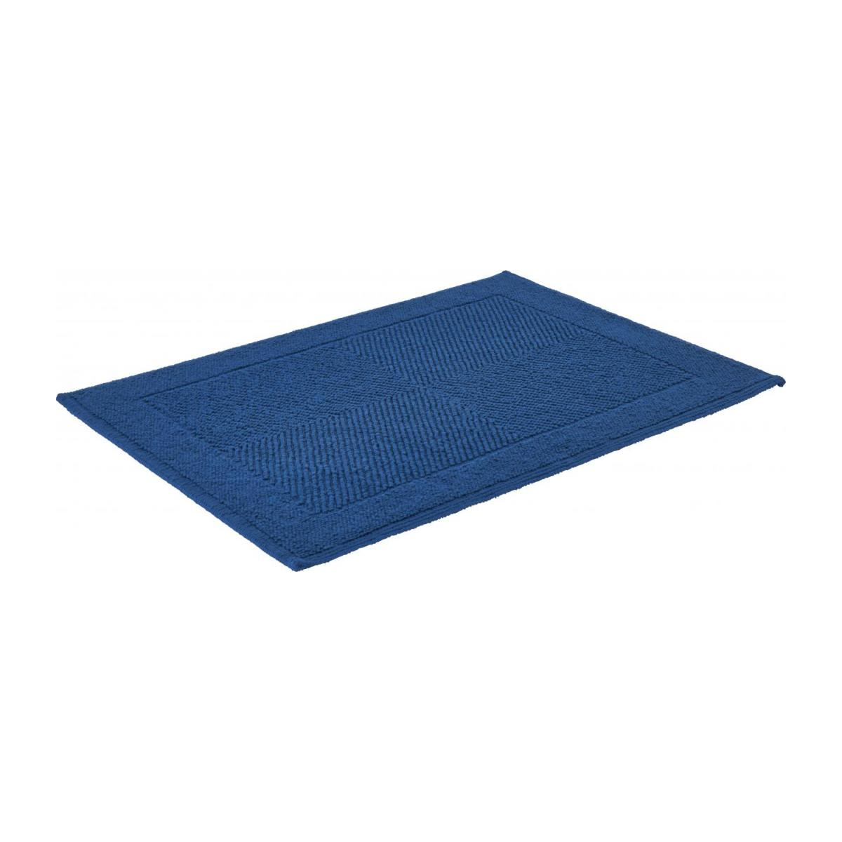 Blue bath mat n°2