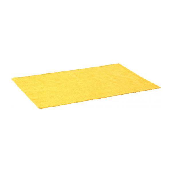 gilmore tapis tiss plat en coton 60x90 jaune habitat. Black Bedroom Furniture Sets. Home Design Ideas