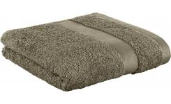 Towel made of cotton 50x100cm, beige