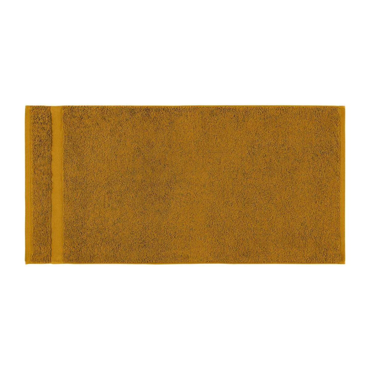 Towel made of cotton 50x100cm, yellow mustard n°3