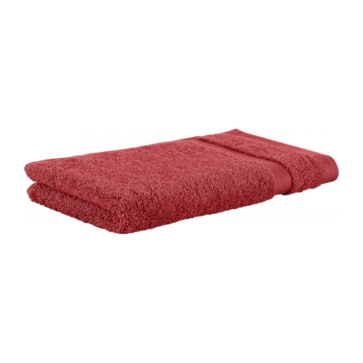 Towel made of cotton 30x50cm, coral n°1