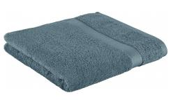 Bath towel made of cotton 70x135cm, blue