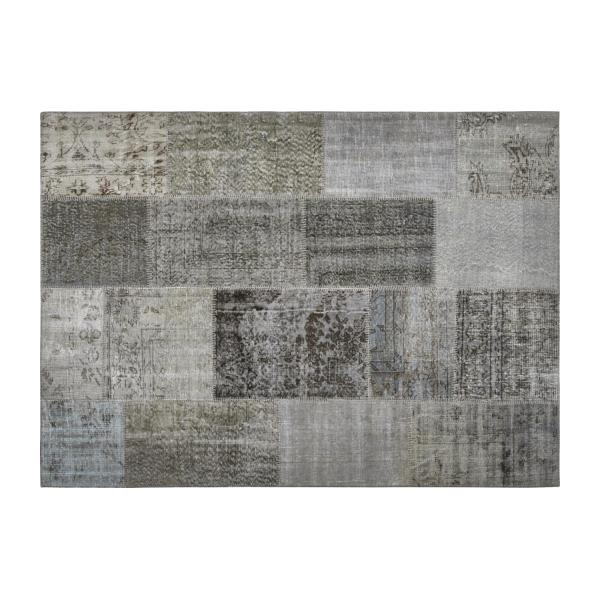 Burling weft thread rug 170 x 240cm habitat - Tapis patchwork multicolore ...