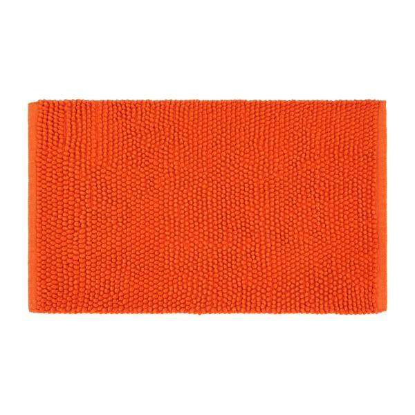 bobble tapis de bain en coton orange habitat. Black Bedroom Furniture Sets. Home Design Ideas