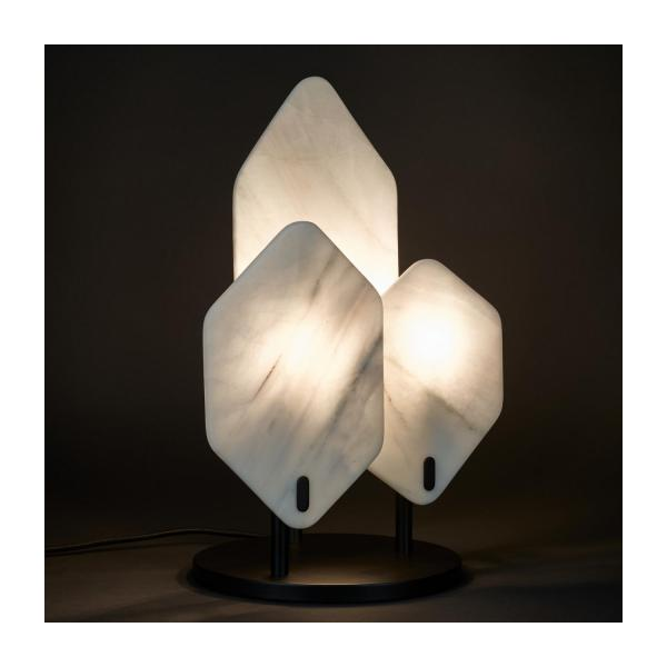 Marble table lamp n°2