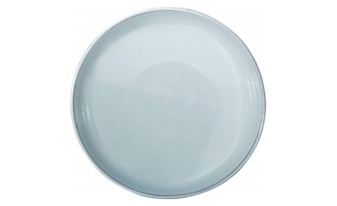 Soup plate made of porcelain, brown and green - Design by Perla Valtierra