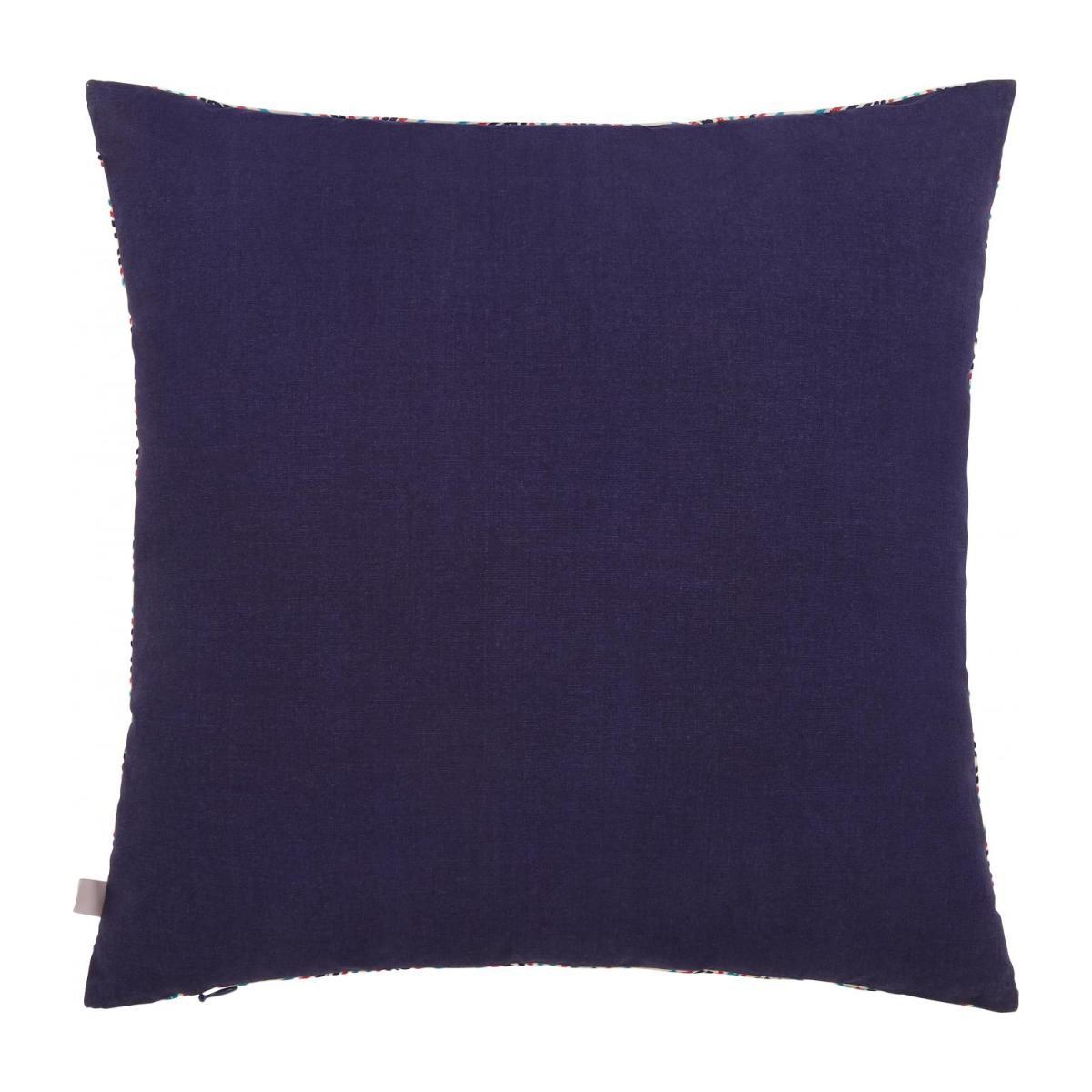 Embroidered cushion made of cotton 45x45cm, with patterns n°4