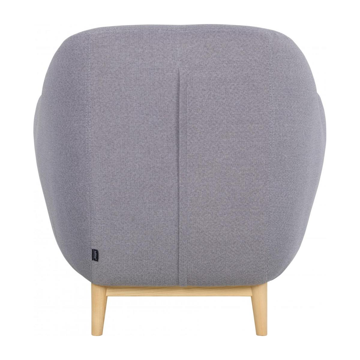 Armchair made of fabric, grey n°3