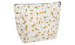 Toiletry bag 30x10x23cm, with patterns