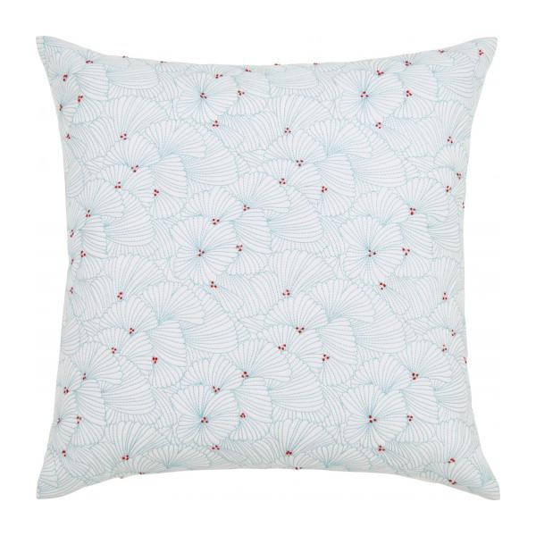 Embroidered quilted cushion made of cotton 50x50cm n°1