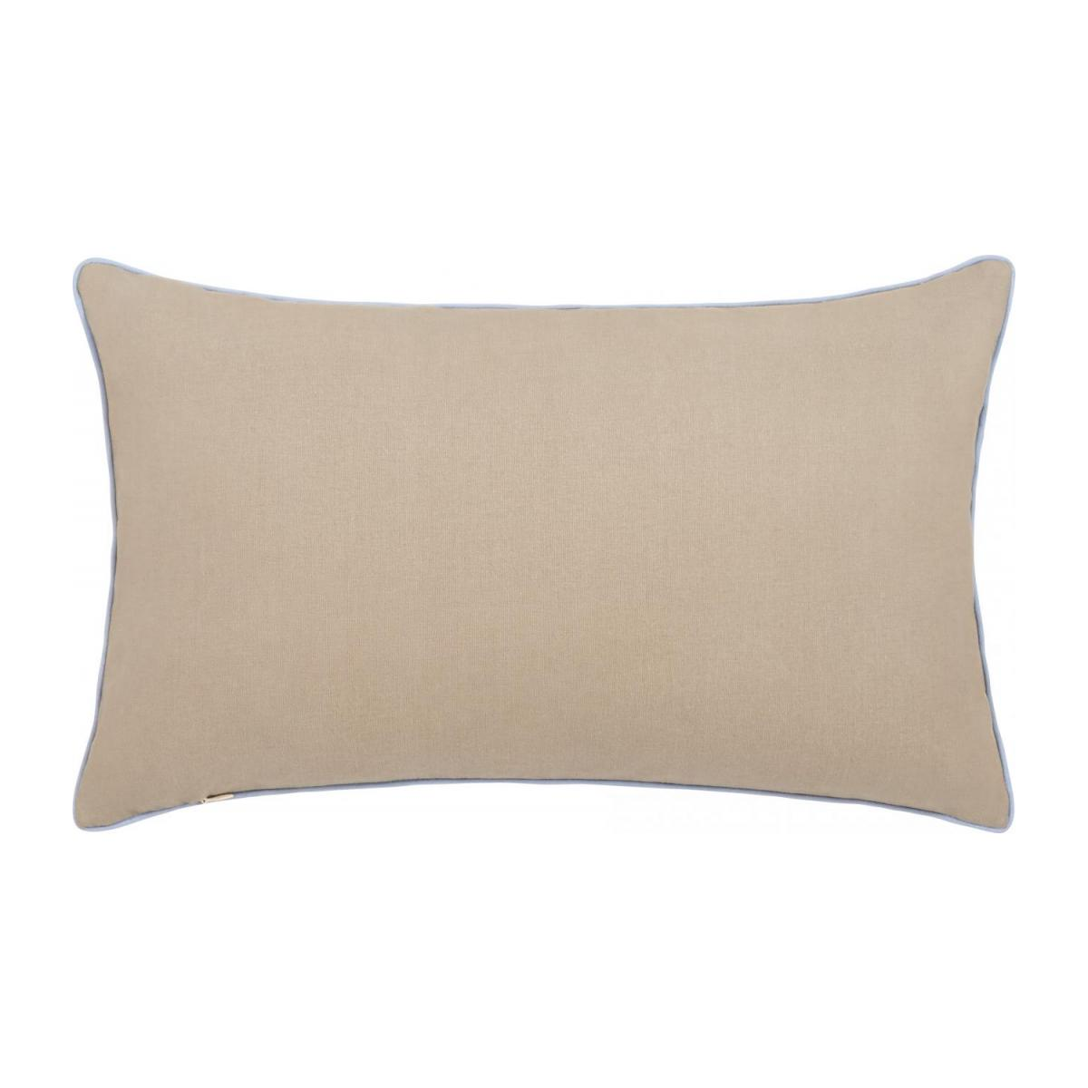 Embroidered jacquard cushion made of cotton 30x50cm n°3