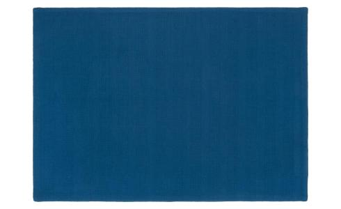 Placemat made of cotton, blue cobalt