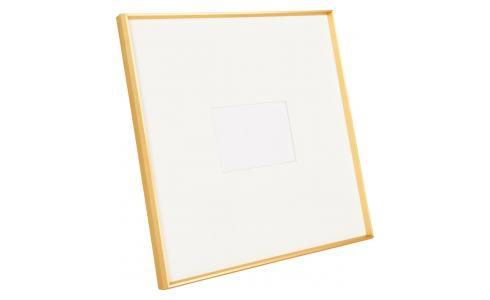 Photo frame made of metal 47X47, golden