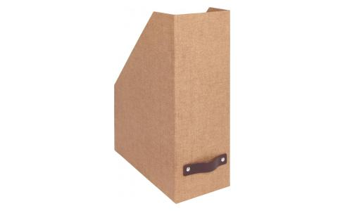 Folder made of cardboard, brown