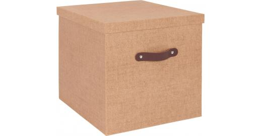 Come Folding Box Made Of Cardboard 60x48 Brown Habitat