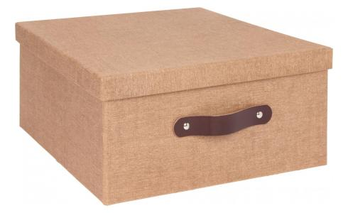 Folding box made of cardboard 60X31, brown