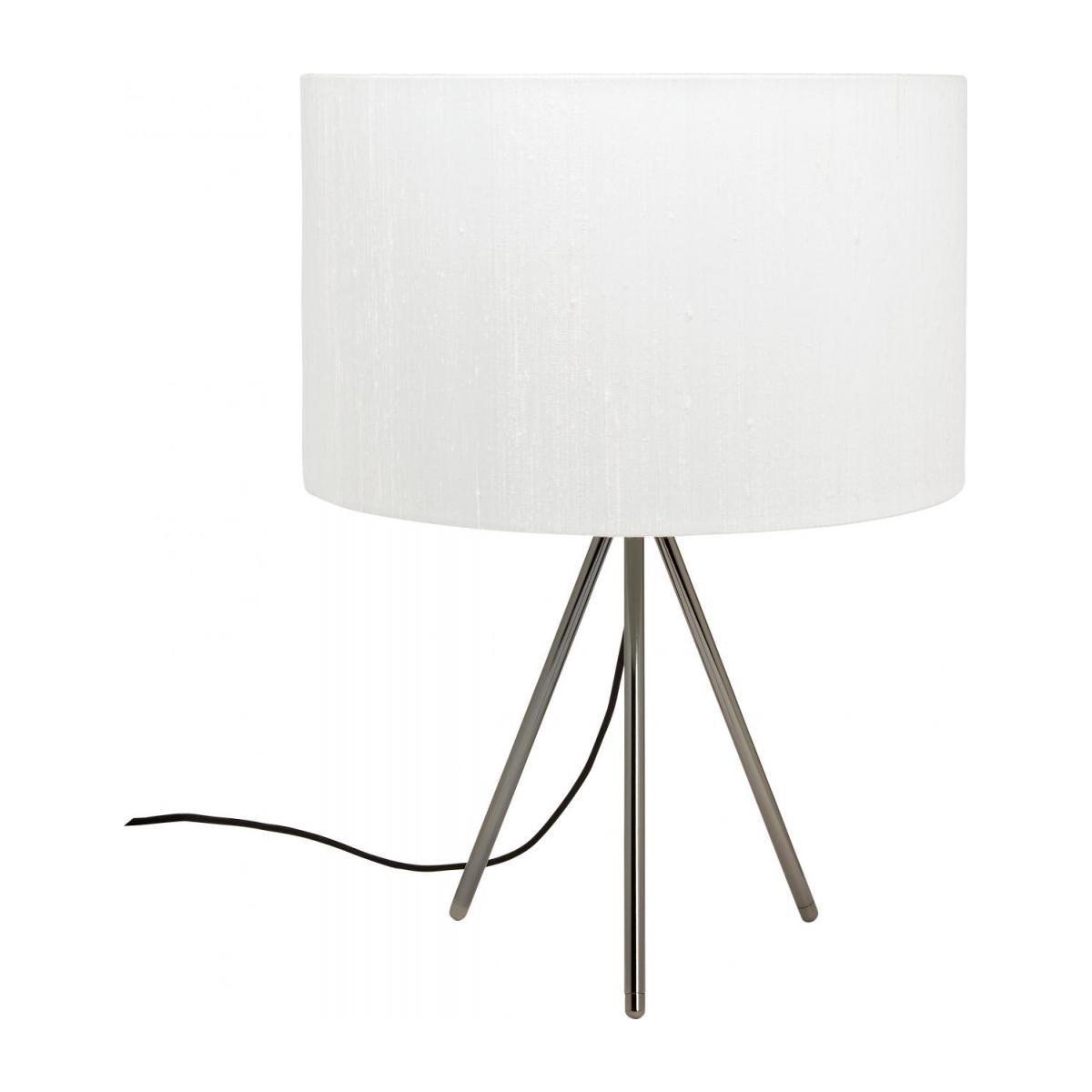Trepied Metal Table Lamp Base Tripod Black Habitat