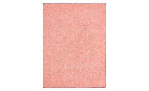 Kitchen towel 50x70cm made of flax, coral