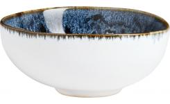 Petit Bowl made of sandstone 11cm, white and black