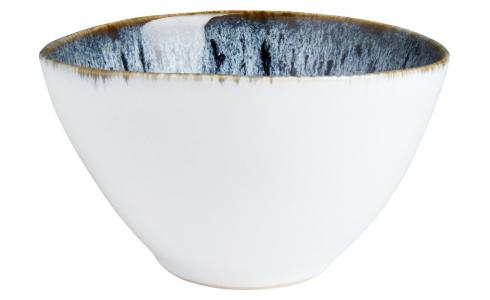 Grand Bowl made of sandstone 15cm, white and black