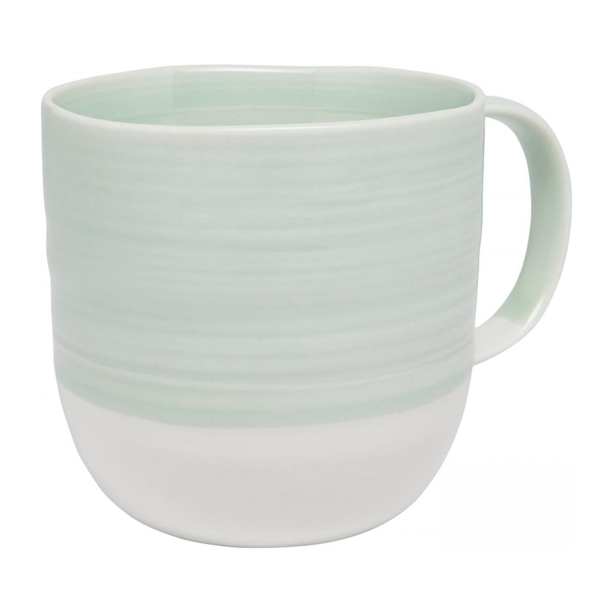 Mug made of porcelain celadon n°1