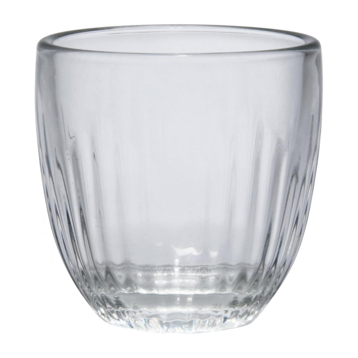 Expresso cup made of glass with layers n°1