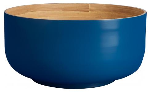 Grand Bowl made of bamboo 25cm, blue