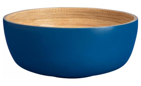Petit Bowl made of bamboo 12cm, blue