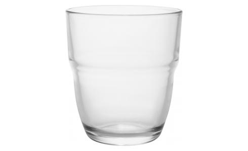 High tumbler made of glass