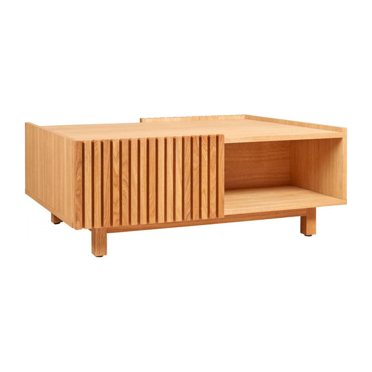 Oak low table n°1