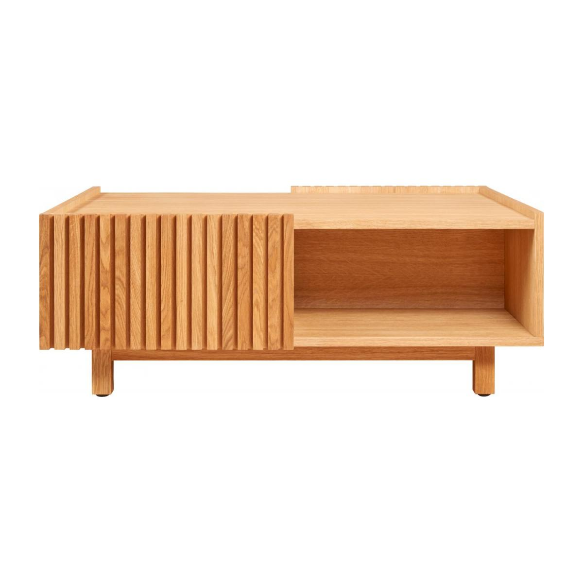 Oak low table n°3