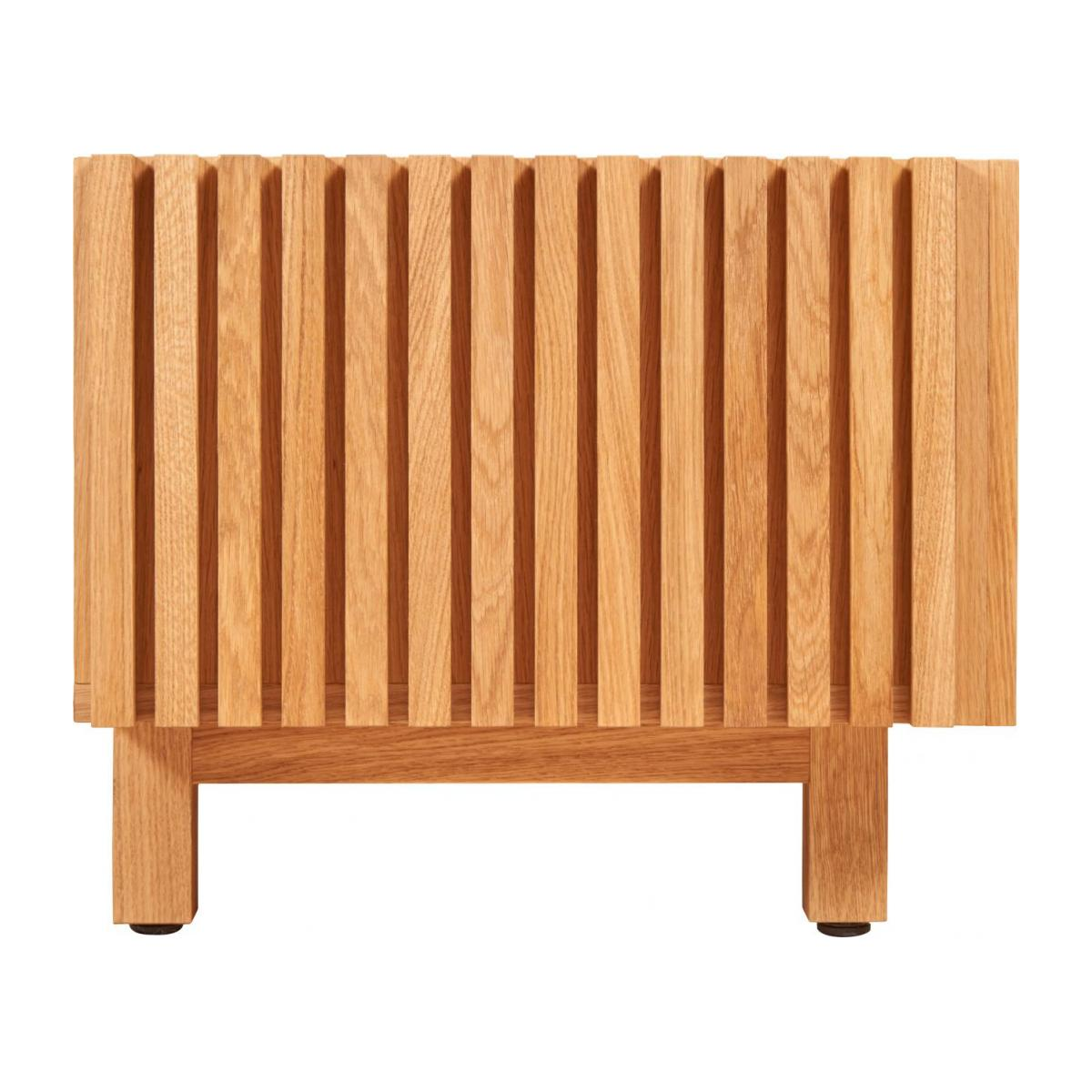 Audio video oak stand n°7