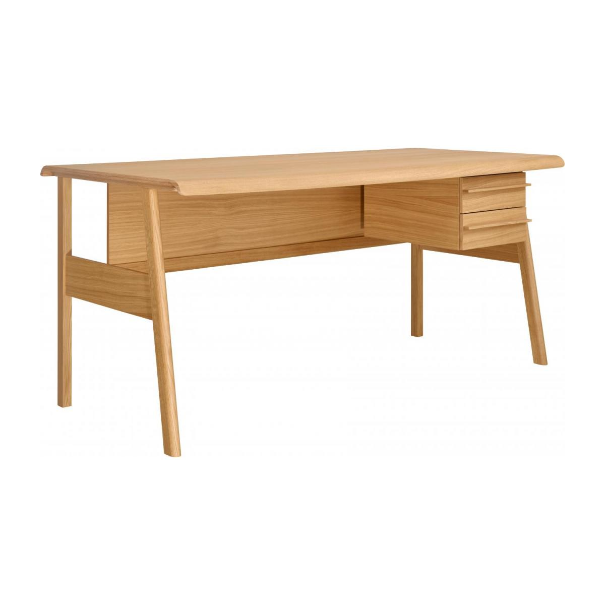 Big oak desk - Design by Joachim Jirou Najou n°1