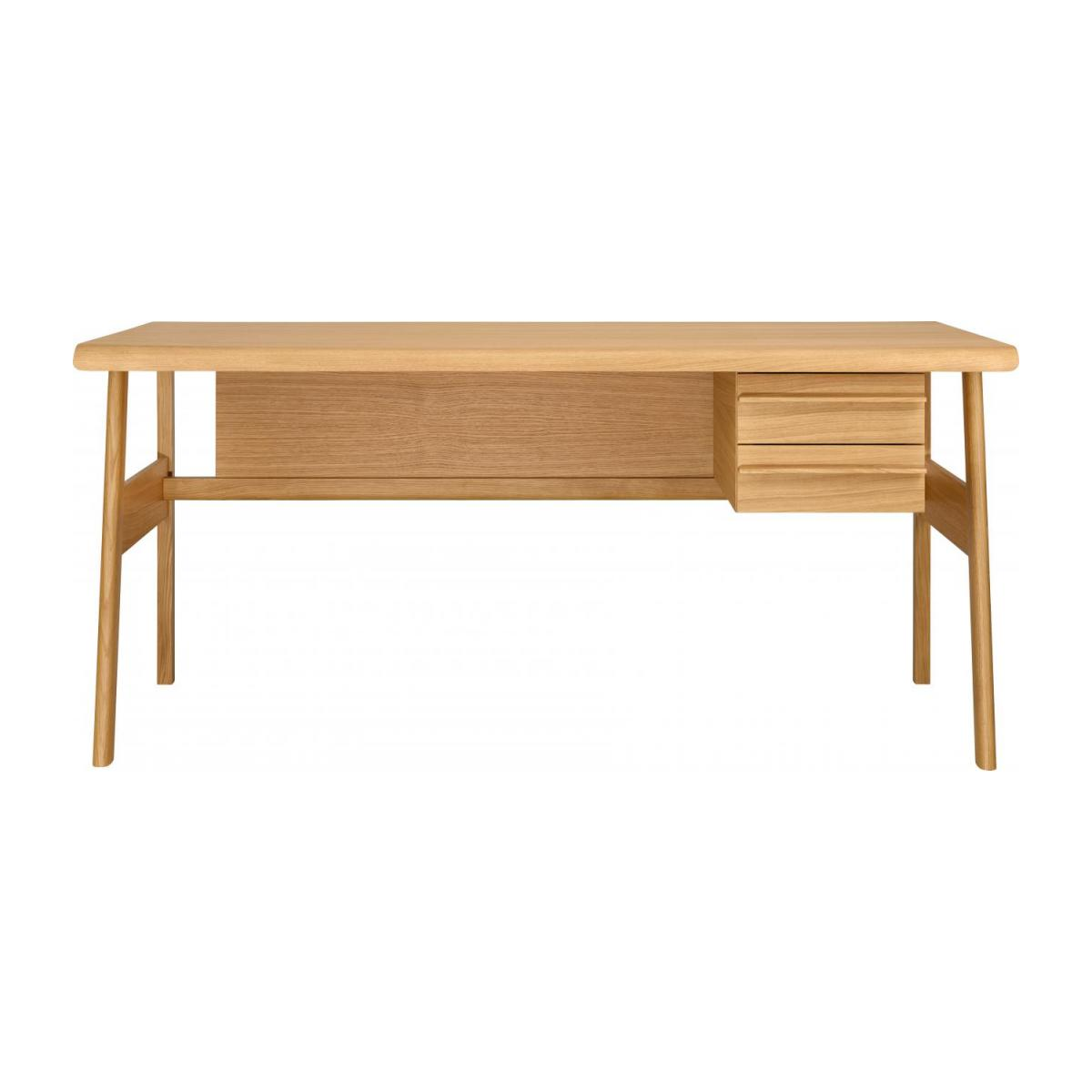 Big oak desk - Design by Joachim Jirou Najou n°3