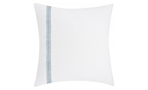 Embroidered pillowcase made of cotton 65x65cm, white