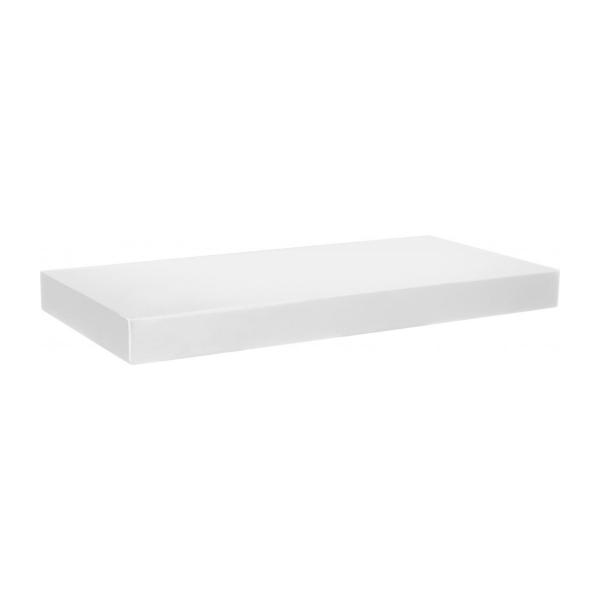 Level ii white high gloss shelf 60cm habitat - Etagere murale habitat ...