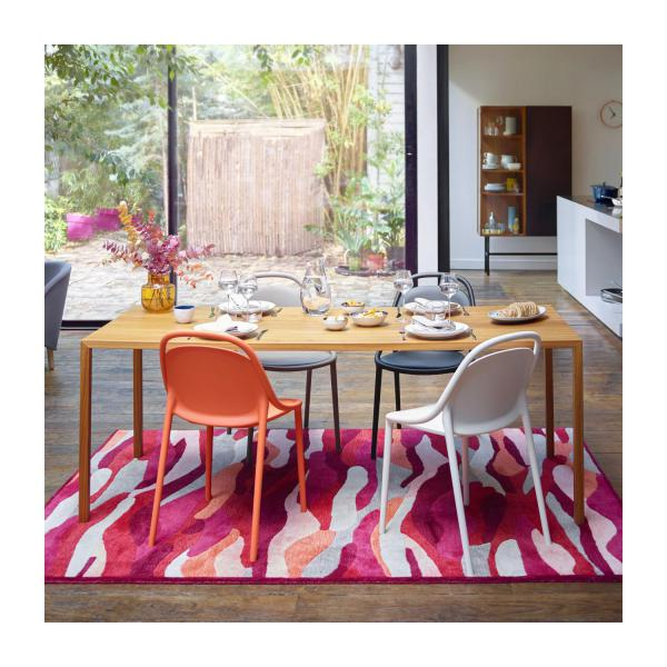 Tratto table de salle manger en noyer habitat - Table a manger habitat ...