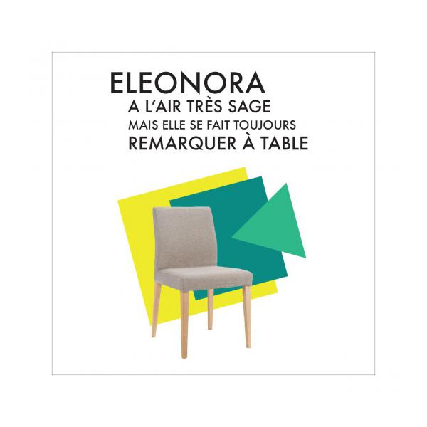 ELEONORA / DINING CHAIR ASH n°7
