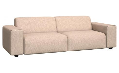 4 seater sofa in Ancio fabric, nature