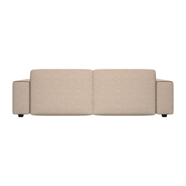 posada 4 sitzer sofa aus stoff beige meliert habitat. Black Bedroom Furniture Sets. Home Design Ideas