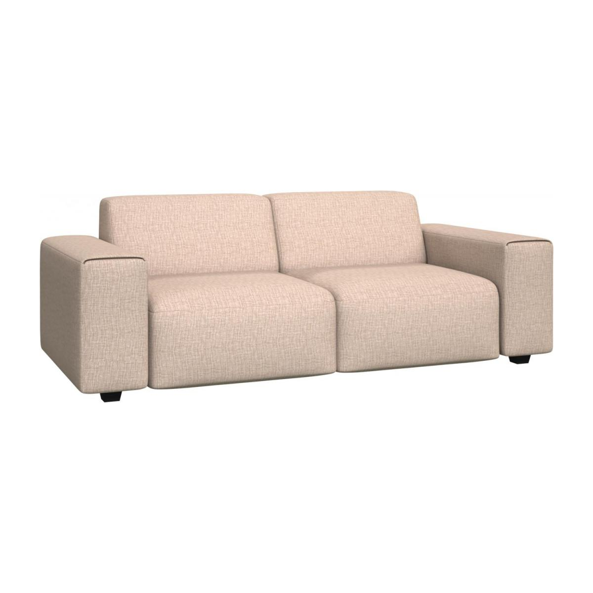 3 seater sofa in Ancio fabric, nature n°1