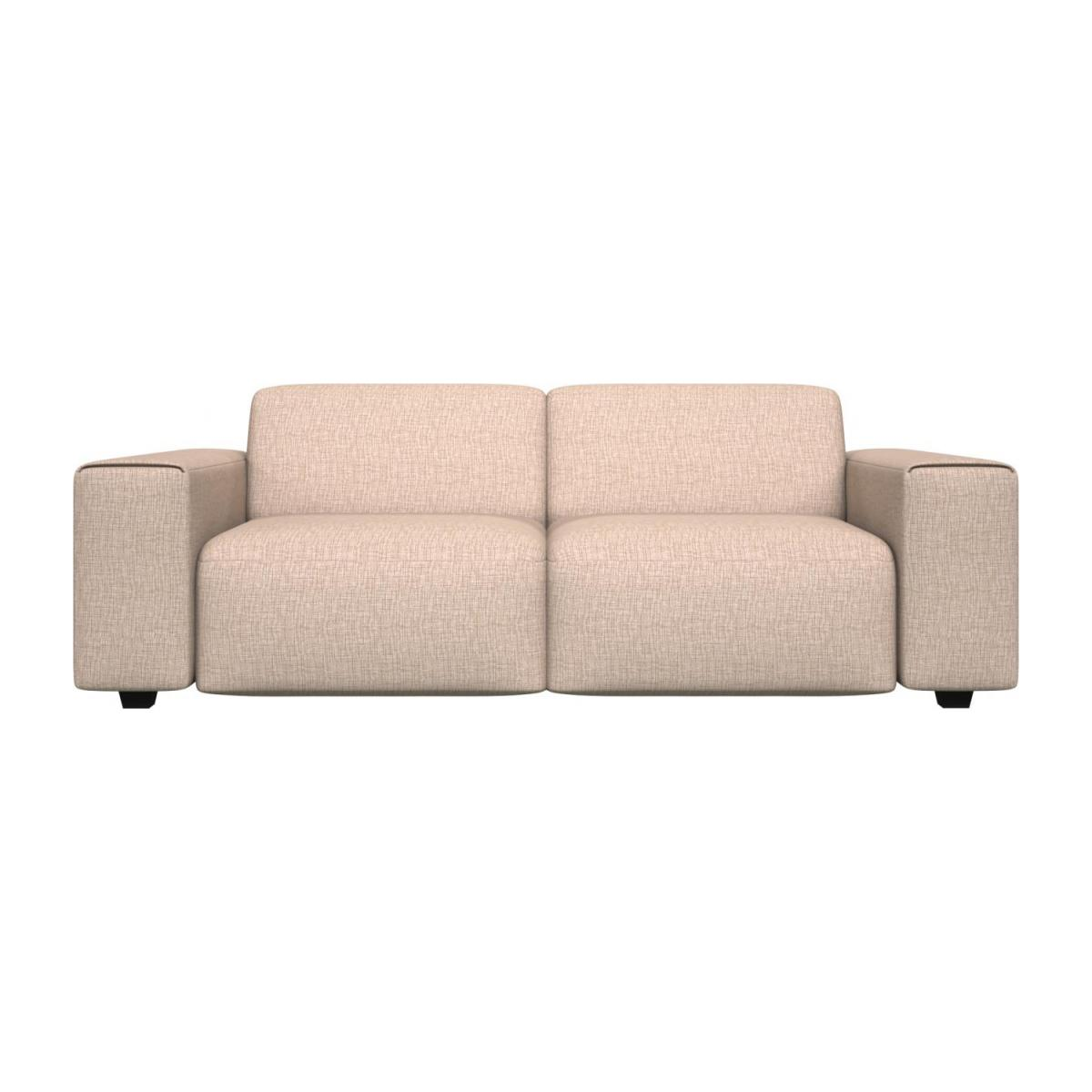 3 seater sofa in Ancio fabric, nature n°2